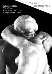 Auguste Rodin The Kiss 4 October 2011 – 2 September 2012