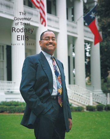 Rodney Ellis - Senate