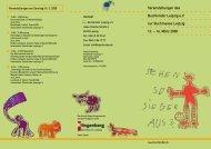 Veranstaltungen des Buchkinder Leipzig e.V. zur Buchmesse ...