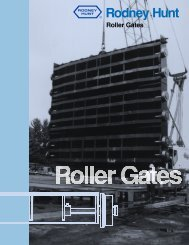 Roller Gates - Rodney Hunt Company