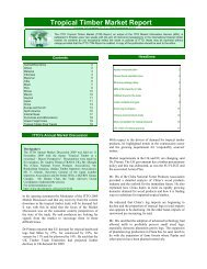 Tropical Timber Market Report - ITTO