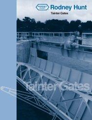 Tainter Gates - Rodney Hunt Company