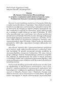 Uroczystość wręczenia dyplomu - Uniwersytet Warszawski - Page 6