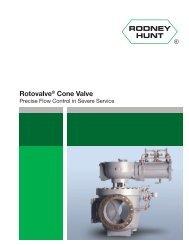 Rodney Hunt Rotovalve Cone Valve - Rodney Hunt Company