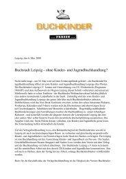 Buchstadt Leipzig - ohne Kinder- und ... - Buchkinder Leipzig eV