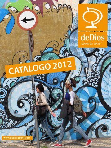CATALOGO 2012 - de Dios Editores