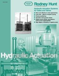 Hydraulic systems - Rodney Hunt Company