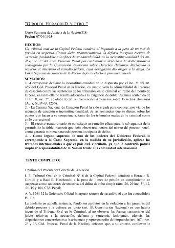 Giroldi, Horacio D. y otro. - Derecho Internacional Publico