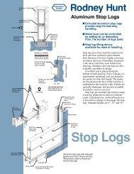 Stop Logs - Rodney Hunt Company