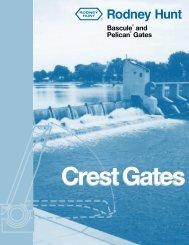 Hinged Crest Gates - Rodney Hunt Company