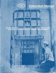 Instruction Manual - Rodney Hunt Company