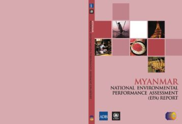 Myanmar National Environmental Performance Assessment Report