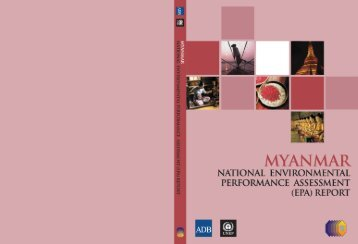 Myanmar National Environmental Performance Assessment Report