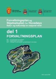 Forvaltningsplan for Hovedøya