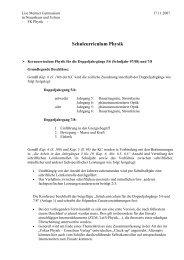 Schulcurriculum komplett - Lise-Meitner-Gymnasium