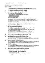 Schulcurriculum Klassen 5 - Lise-Meitner-Gymnasium