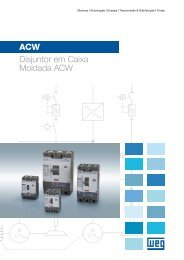 Disjuntor em Caixa Moldada de Alta Capacidade ACW - Weg