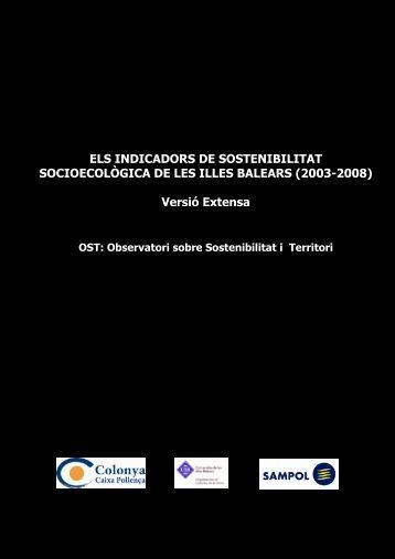 Versió extensa de l'estudi - Universitat de les Illes Balears