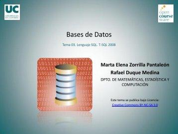 Tema 3. SQL Server 2008