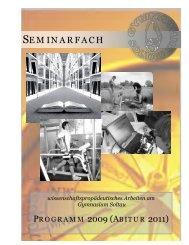 SEMINARFACH - Gymnasium Soltau