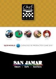 SJCR WORLD CATALOGO DE PRODUCTOS CLAVE 2010