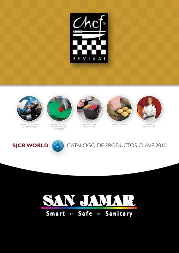 SJCR WORLD CATALOGO DE PRODUCTOS CLAVE 2010