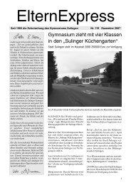 Dezember 2007 - Gymnasium Sulingen