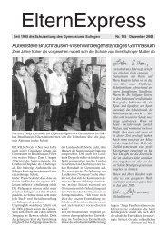 Klaus Spreen - Gymnasium Sulingen