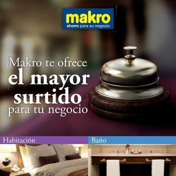 Catálogo Hoteles - Makro