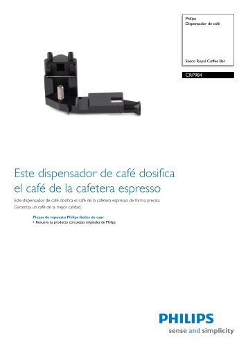 CRP984/01 Philips Dispensador de café