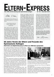Dezember 2010 - Gymnasium Sulingen