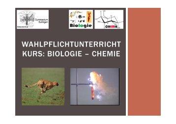 biologie – chemie - Gymnasium Sulingen