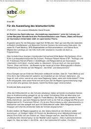 Sindelfinger Zeitung - Gymnasium Unterrieden