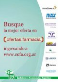 publicacion oficial de la confederacion farmaceutica argentina - Page 3