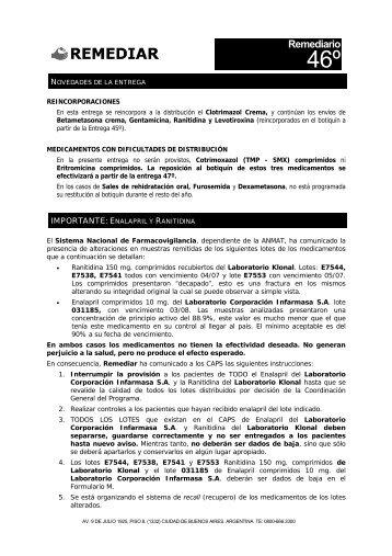 remediario 46 - Remediar+Redes