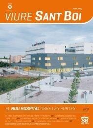 el nou hospital obre les portes - Ajuntament de Sant Boi de Llobregat