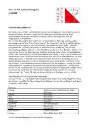 PM 12-25 vom 29.10.2012 - Gymnasium Weingarten