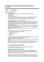 AKE Protokoll Sitzung 34 vom 22-11-2010 - Gymnasium Weingarten