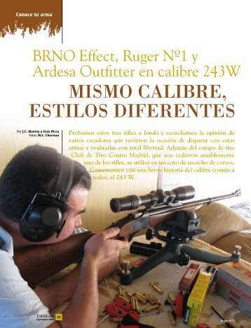 OUTFITTER Un Juguete Letal Revista Caza Castilla La ... - Ardesa