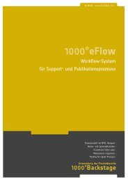 1000°eflow - 1000°DIGITAL Gmbh