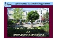 Sprachliches Profil - Gymnasium zu St. Katharinen Oppenheim