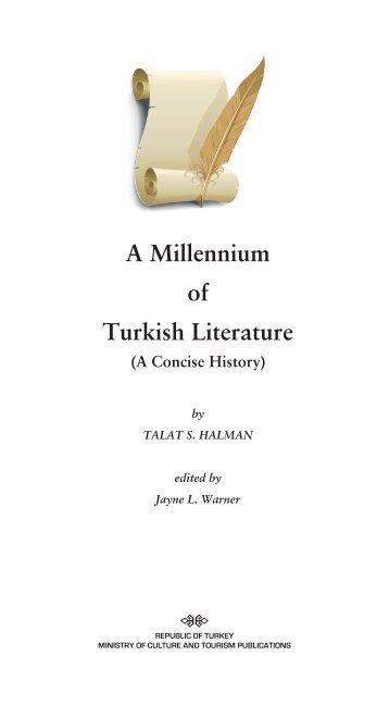 A Millenium of Turkish Literature - TEDA