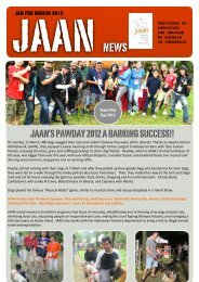 JAAN NEWS 2012 JAN FEB MARCH - Jakarta Animal Aid Network