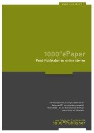 1000°epaper - 1000°DIGITAL Gmbh