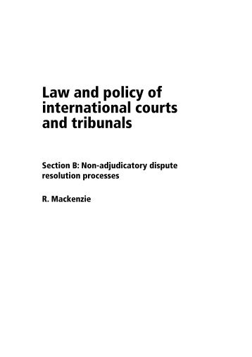 the international courts and tribunals success Free essay: to what extent have international courts and tribunals been successful in upholding human rights there are several international bodies that are.