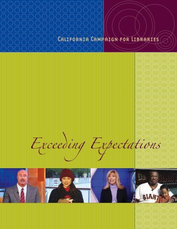 Exceeding Expectations - Fresno County Public Library