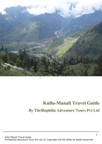 Kullu-Manali Travel Guide - Thrillophilia