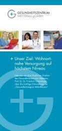 Flyer Interview mit Prof. Dr. Dr. Grimminger - Gesundheitszentrum ...