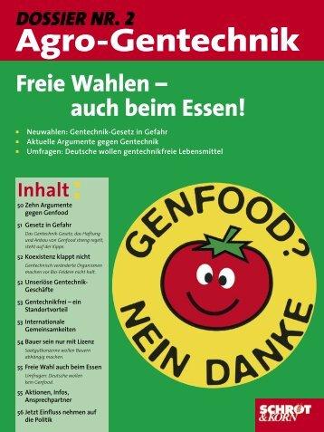 DOSSIER NR. 2 Freie Wahlen - 1000 Körner Markt
