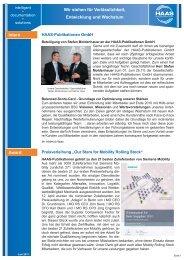 Newsletter Juni-2011.indd - HAAS Publikationen  GmbH